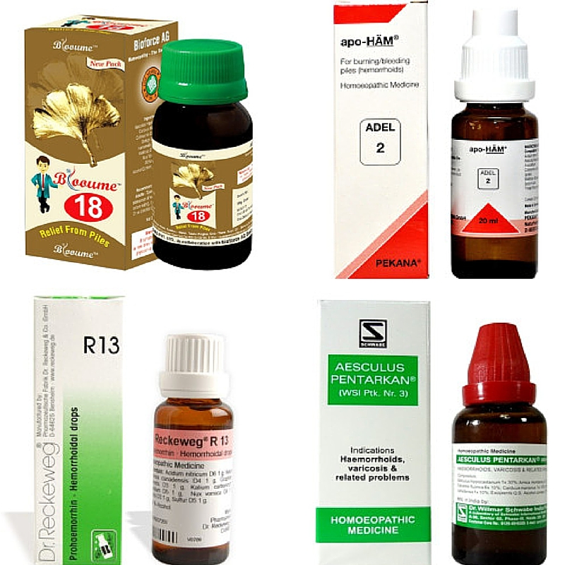 Top 10 homeopathy medicines for piles, buy online get upto 15% off