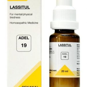 ADEL 19 Lassitul homeopathic medicine for mental tiredness and physical exhaustion