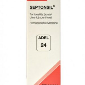 ADEL 24 Septonsil homeopathic medicine for tonsilitis, sore throat