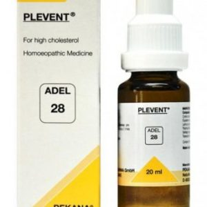 ADEL 28 PLEVENT homeopathic medicine for high cholesterol