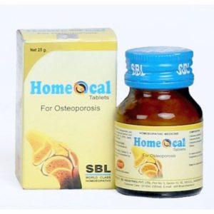 SBL Homeocal Tablets for Osteoporosis, medicine for weak bones
