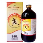 SBL Orthomuv Syrup. Homeopathy for joint, Knee and muscle pain with Arnica Q, Bryonia Q, Dulcamara Q, Rhus tox 3x, Gaultheria 3CH