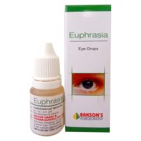 Bakson Euphrasia Eye care Drops for eye infections, cataract, loss of vision