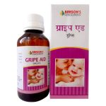Bakson Gripe Aid drops eases digestion, treats colic , flatulence, indigestion, reflux, teething pain & other stomach problems in babies