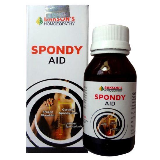 Spondylosis homeopathic medicine for frozen shoulder , Vertigo - Bakson Spondy Aid Drops