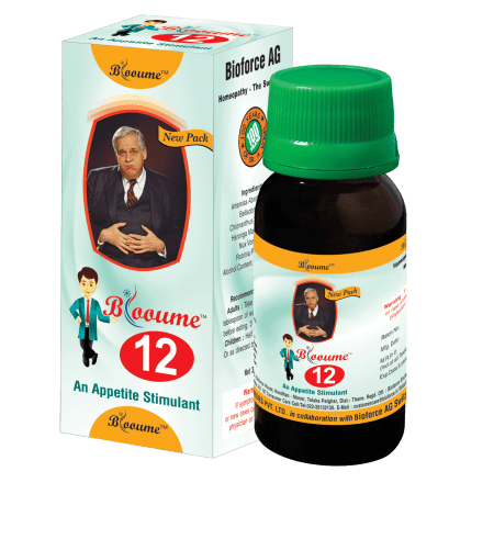 Blooume -12 Digestisan, appetite stimulant homeopathy medicine