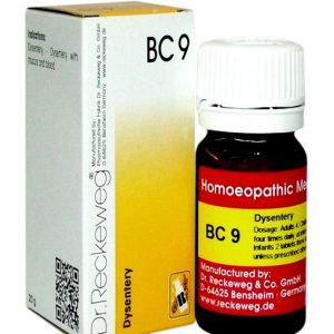 Dr Reckeweg Biocombination Tablets BC 09 for Dysentery