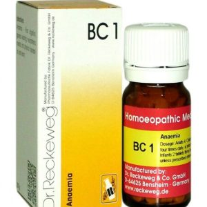 Dr.Reckeweg-Germany Biocombination Tablets BC1 for Anaemia, Iron deficiency Salt