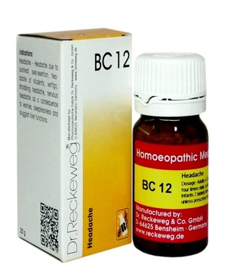 Dr.Reckeweg-Germany Biocombination Tablets BC 12