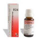 Dr. Reckeweg R24 drops for Pleurisy, intercostal neuralgia, Acute appendicitis, Chronic appendicitis, Arthritis, Chronic appendicitis