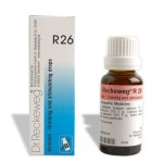 Dr. Reckeweg R26 Draining and stimulating drops, develops immunity treats exhaustion, formation of immuneglobulin