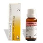 Dr. Reckeweg R7 Liver and gallbladder drops, Uric acid diathesis, Ascites, Cholelithiasis, Cholangitis, Cirrhosis of liver, Conjunctivitis