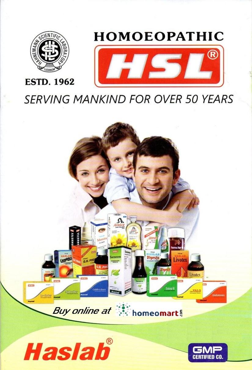 Haslab Homeopathic medicines