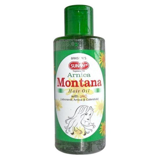 Bakson Sunny Arnica Montana Hair Oil with JAC (Jaborandi, Arnica, Calendula)
