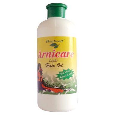 Healwell Arnicare Light Hair Oil with Arnica, Brahmi and Amla