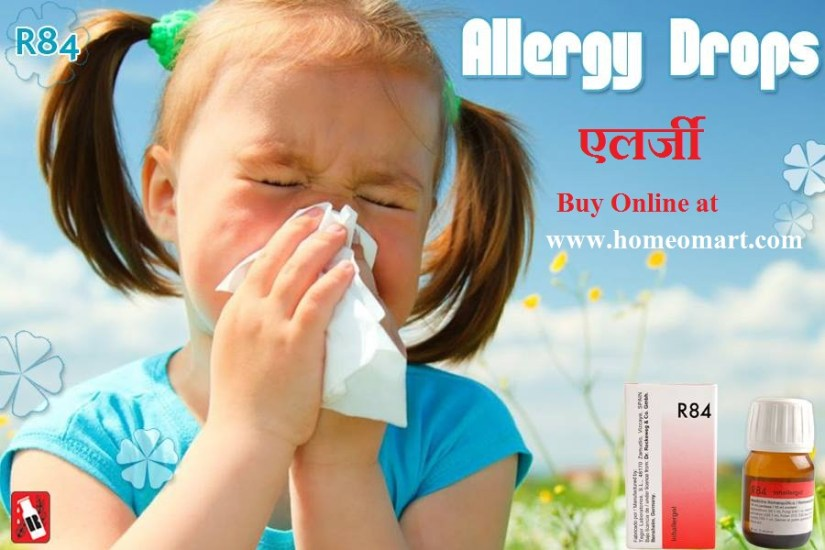 Reckeweg R84 allergy drops