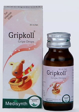 Medisynth Gripkoll Homeopathy Gripe Drops