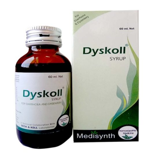 Medisynth Dyskoll Syrup for Diarrhea, Dysentery