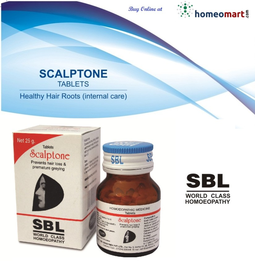 SBL Scalptone Tablets - Homeopathic scalp tonic