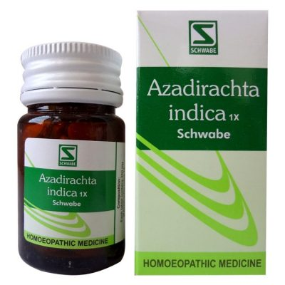Schwabe Azadirachta 1X Tablet - Homeopathy Detox medicine, blood purifier, astringent, anti cancer properties