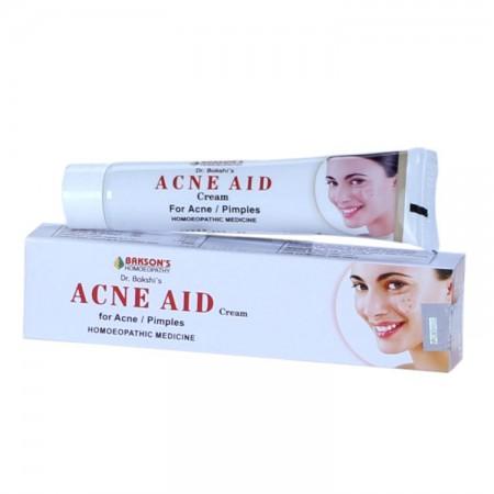 Baksons Acne Aid Cream with Berberis Aquifolium, Thuja Occ, Calendula Off
