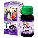 Blooume 20 IMMUNOFORCE drops, immunity system medicine in homeopathy
