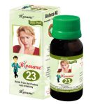 Buy Blooume23 MENOSAN Drops for relief from Climacteric Hot Flushes, Irritability during menstrual periods