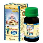 Blooume 34 WEIGHTOSAN Drops, homeopathy for weight gain