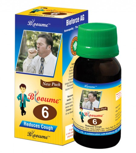 Buy Blooume 6 BIOTUSSIN for coughs, catarrh. A safe expectorant