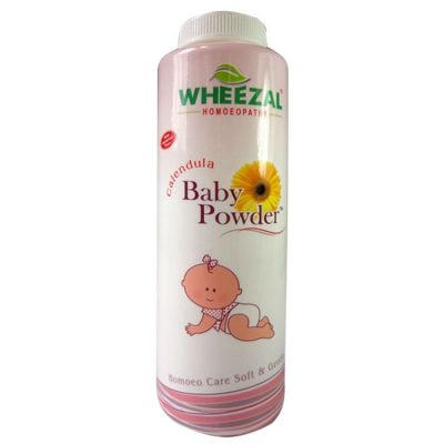 Wheezal Calendula Baby Powder for Skin Protection of Childern