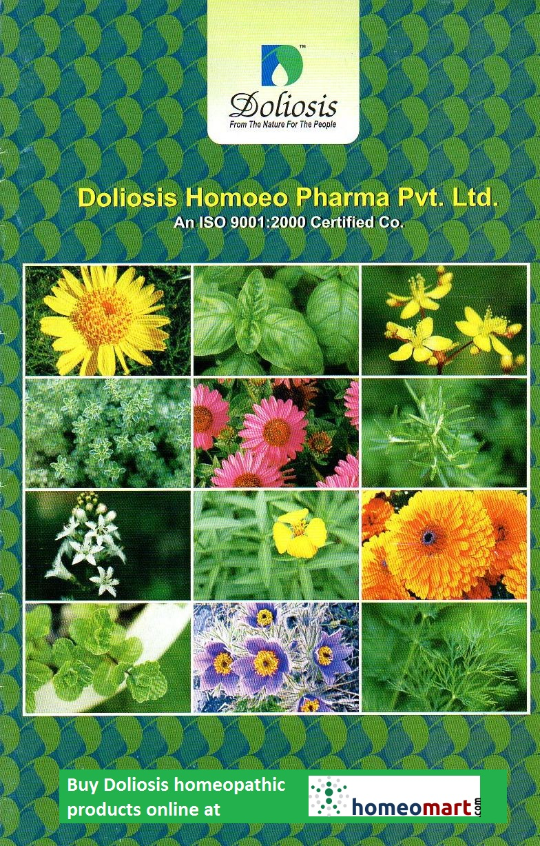 Doliosis Homeopathic Products - Buy online