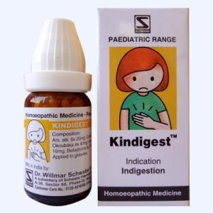 Homeopathic medicine for Indigestion in children and infants, sleep, disorders, due to digestive problem. - Schwabe Kindigest Globules