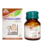 Wheezal Phytolacca Berry Tablets for Weight Reduction