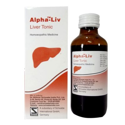 Schwabe Alpha-Liv syrup for symptoms of Liver Disease, Fatty Liver