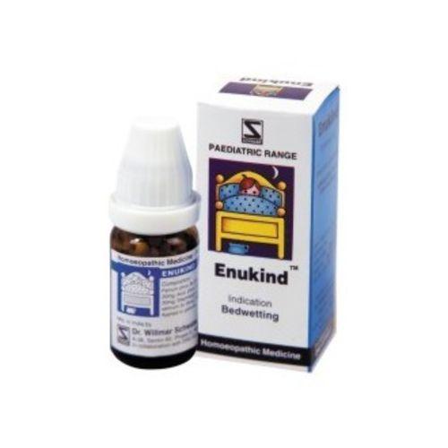 Schwabe Enukind globules for bed wetting , nocturnal enuresis in children