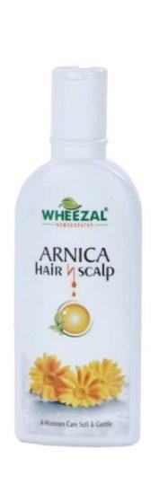 Wheezal Arnica hair n Scalp shampoo for Silky, Soft and Manageable Hair