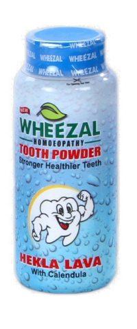 Wheezal Hekla Lava with Calendula Dental Care Tooth Powder