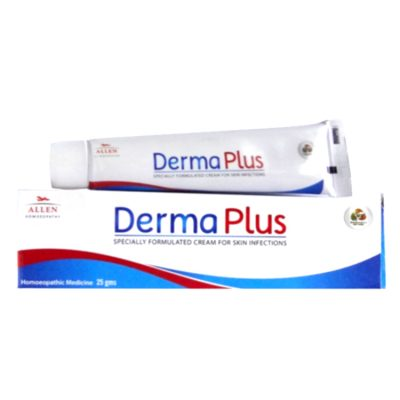 Derma Plus Homeopathic cream for Skin Infections, eczema, fungal infections, psoriasis