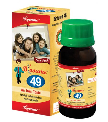 Bioforce Blooume 49 Fe-Tone Iron Tonic for anemia, iron deficiency