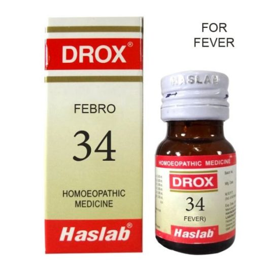 Haslab Drox-34 Febro (for Fever)