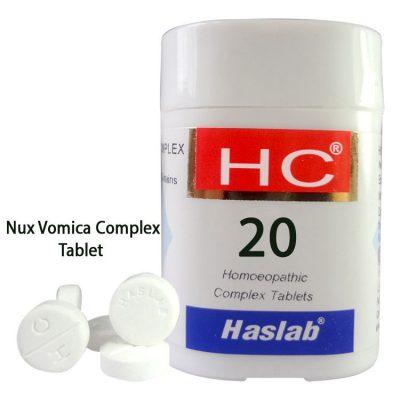 Haslab HC-20 Nux Vomica Complex Tablet
