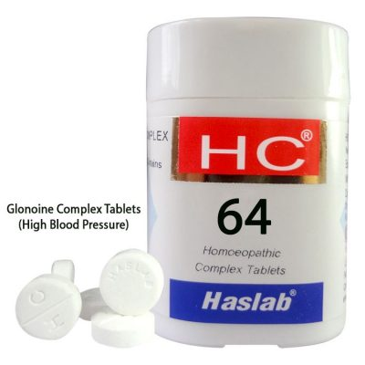 Haslab HC-64 Glonoine Complex Tablets for High Blood Pressure