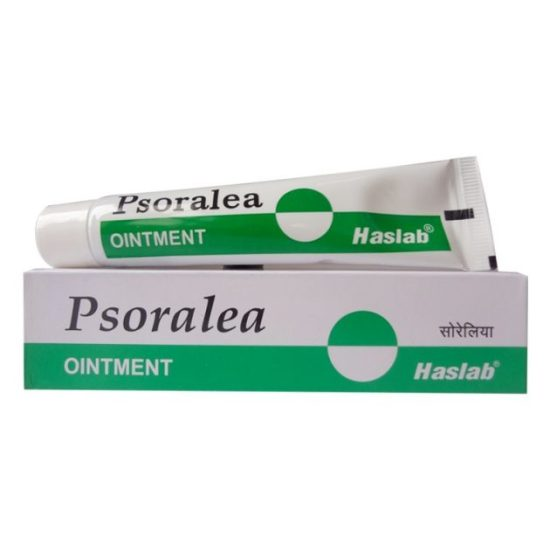 Haslab Psoralea Ointment- homeopathy for leucoderma, Psoriasis