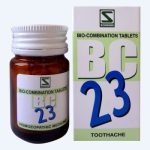 Schwabe Biocombination BC23 for Toothache