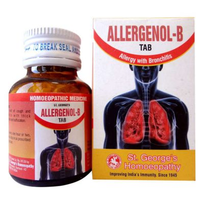 St George Allergenol-B Tab for Allergy with Bronchitis