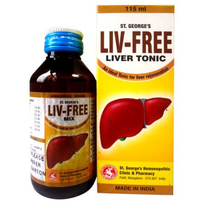 St George Liv -Free (Liver Tonic) - An Ideal Tonic for Liver Rejuvenation, Liver tonic Herbs