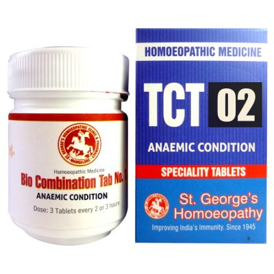 St George Tissue Complex Tablets 2 for Anaemic Condition