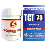 St George TCT 73 Homeopathic Tissue Complex Tablets for Diarrhoea