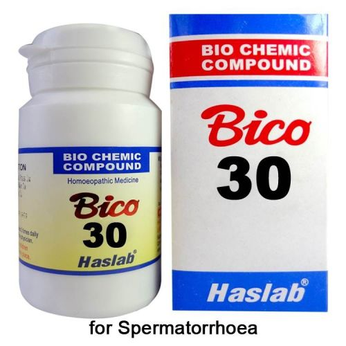 Haslab Bico-30 Biochemic compound for Spermatorrhoea or loss of semen
