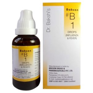 Buy Dr.Bakshi B1 Homeopathy drops for Influenza